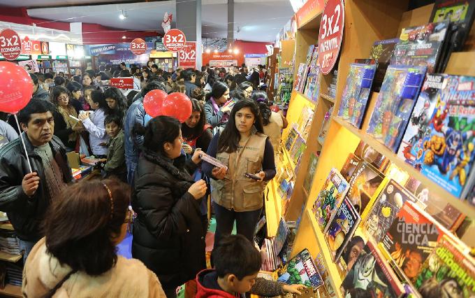 Feria Internacional del Libro de Lima abrirá sus puertas este 19 de julio