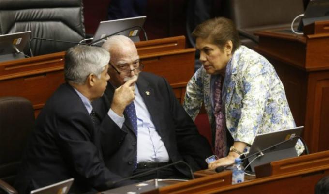 Congresistas de Fuerza Popular se reunieron con premier Del Solar