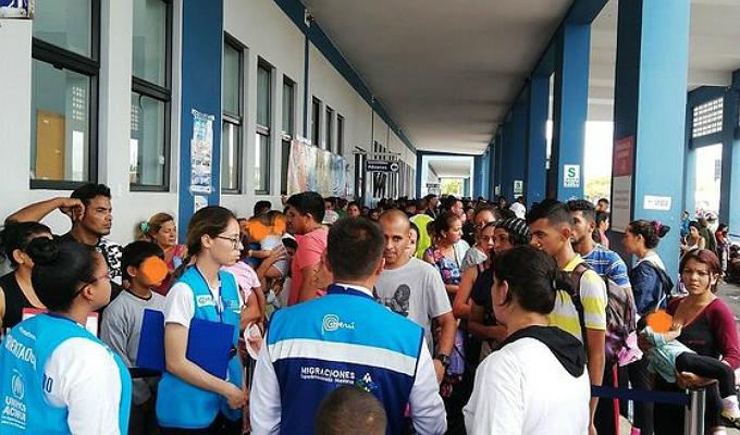 Tumbes: miles de ciudadanos venezolanos ingresan al Perú bajo refugio humanitario