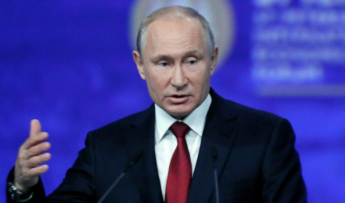 """Vladímir Putin: relaciones con EEUU son cada vez """"peores"""""""