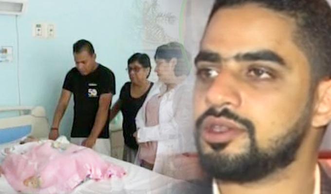Piura: empresario árabe paga operación de niña con hidrocefalia