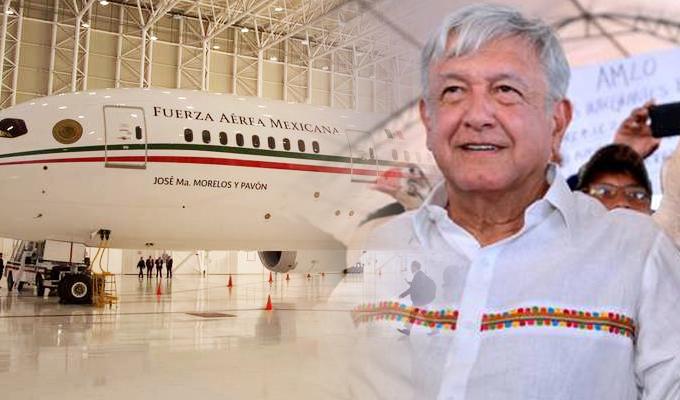 México: mandatario pone en venta avión presidencial