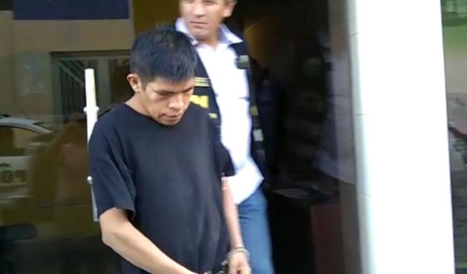 Chiclayo: capturan a hombre que arrojó gasolina a su hermana para robarle