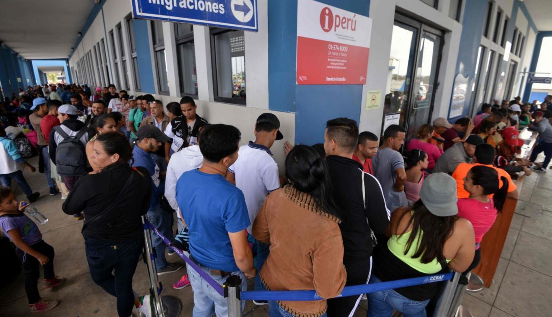 Venezolanos piden que niños puedan ingresar al Perú sin visa humanitaria