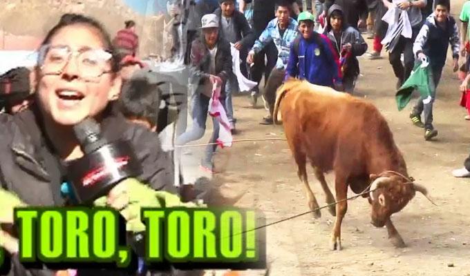 Fiesta Brava: valientes huancavelicanos se enfrentan a salvajes toros