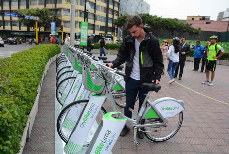 San Isidro: problemas en marcha blanca del servicio de  bicicletas