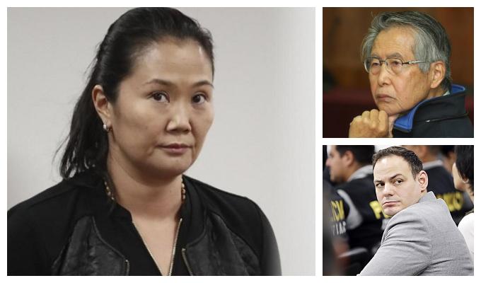Keiko Fujimori envía saludos a Alberto Fujimori y a Mark Vito por el Día del Padre