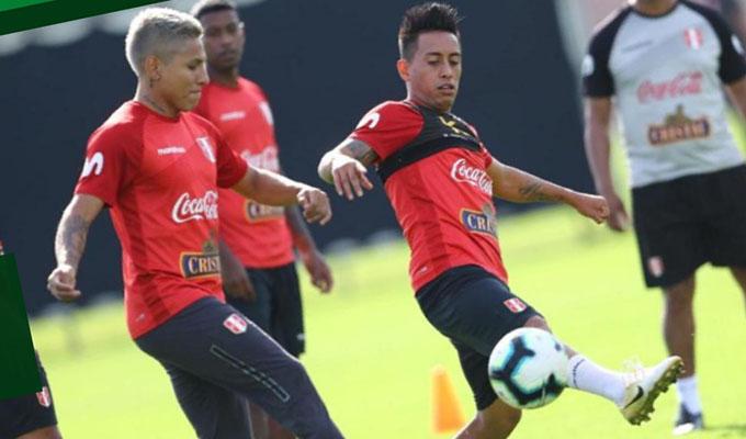 Copa América: Christian Cueva entrenó con normalidad tras lesión
