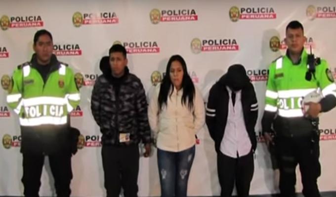 La Victoria: menor de edad entre detenidos por arrastrar a joven para robarle