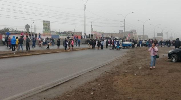 Puente Piedra: detenciones y enfrentamientos en segunda marcha contra el peaje