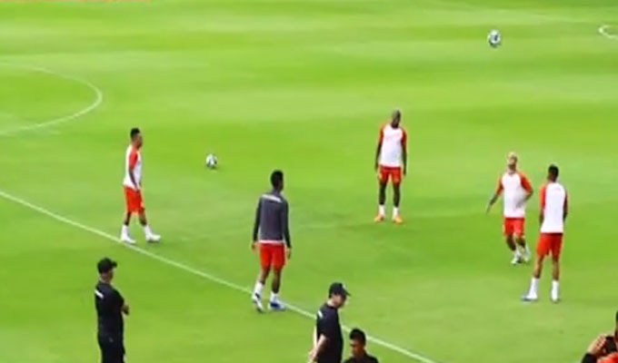 Perú vs Uruguay: selección realiza último entrenamiento en Sao Paulo