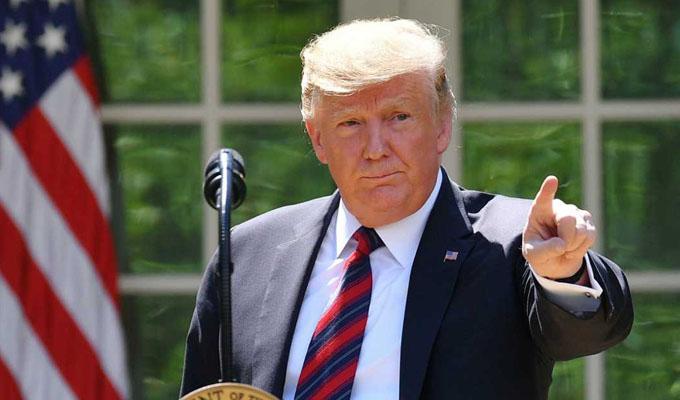 """Trump a congresistas demócratas extranjeras: """"Si no están felices en EE.UU., pueden irse"""""""