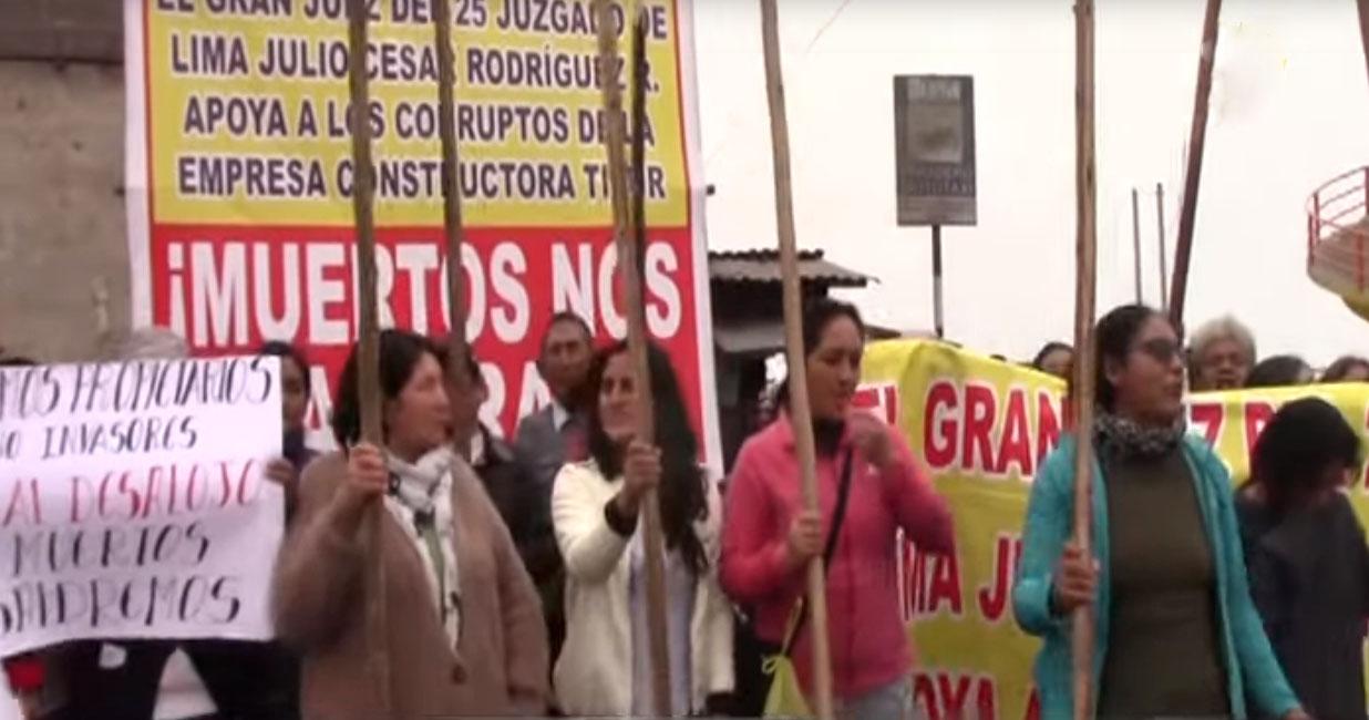 Comunidad de Sumac Pacha: pobladores protestan ante orden de desalojo