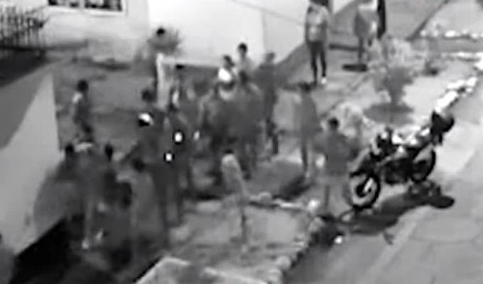 Los Olivos: vecinos linchan y desnudan a ladrón de celulares