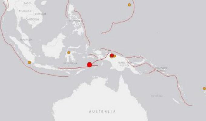 Sismo de magnitud 7.3 sacudió Indonesia
