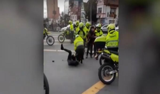 Colombia: indignación causa violentos atropellos a 'skaters'