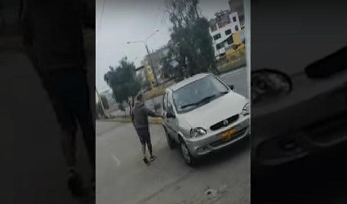 San Luis: auto que atropelló a ciclista le pertenecería a un policía