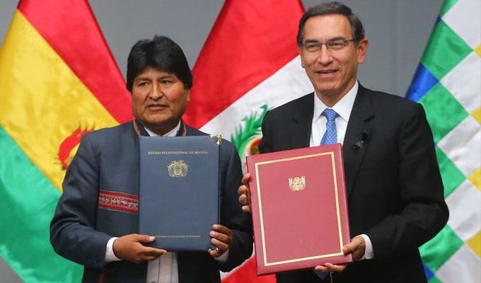 Vizcarra: acuerdos con Bolivia tendrán resultados en 1 año y están pensados en la población