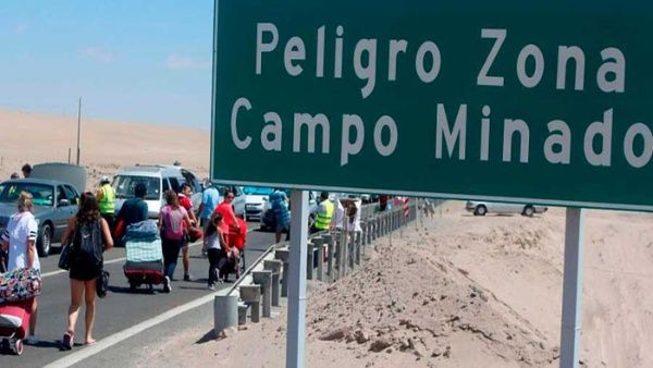 Intervienen a venezolanos que intentaban ingresar a Chile por campos minados