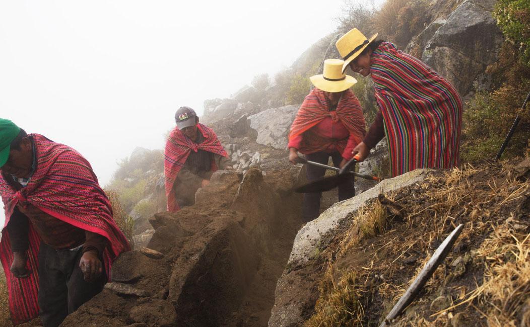 Sistema preinca podría ser utilizado para mejorar disponibilidad del agua en Lima