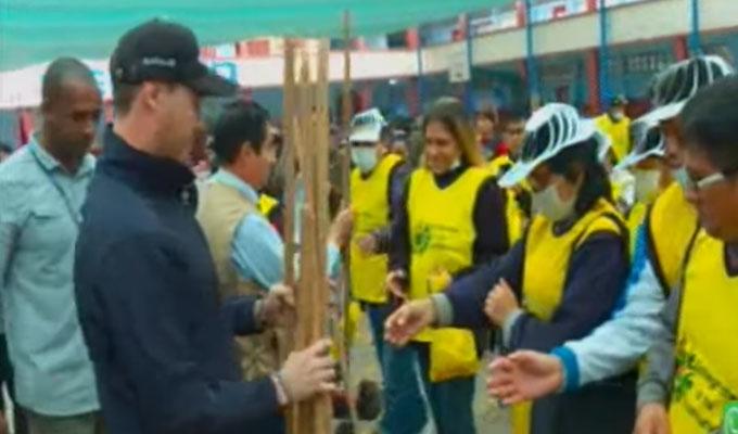 La Victoria: George Forshyth participó de campaña de reinserción social organizada por el INPE