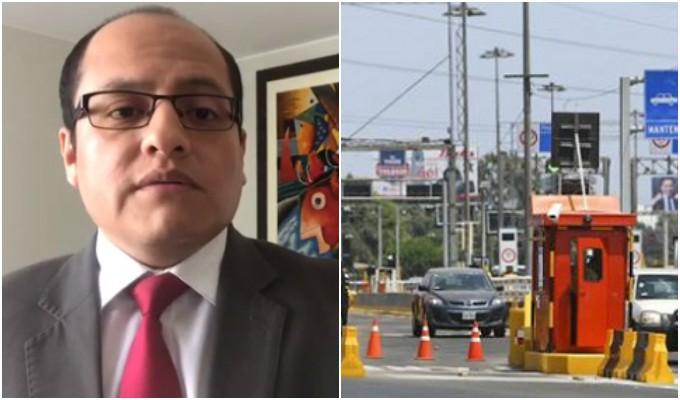 Víctor Hugo Quijada: Nulidad vía arbitral sería solución a los peajes
