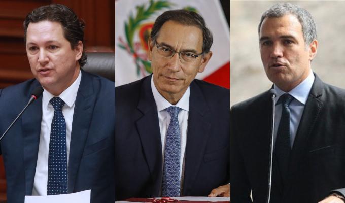 Vizcarra, Del Solar y Salaverry saludan triunfo peruano
