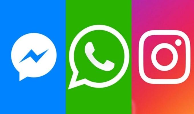 Reportan caída de Facebook, WhatsApp e Instagram a nivel mundial