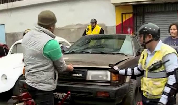 La Victoria: vehículos abandonados eran usados como refugio de delincuentes