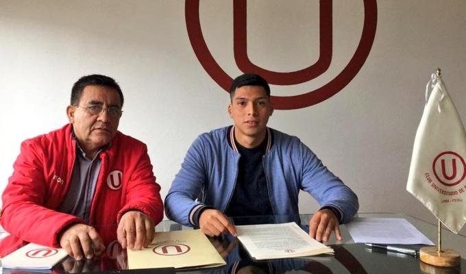 Universitario: Gerson Barreto es el nuevo refuerzo del cuadro crema