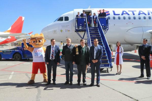 Cusco: alcalde Muñoz presente en celebración de relevo de la Antorcha Panamericana