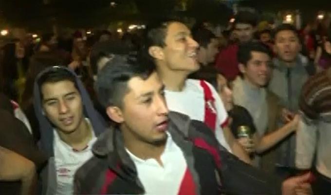 Miraflores: hinchas peruanos celebraron toda la noche clasificación a final de Copa América