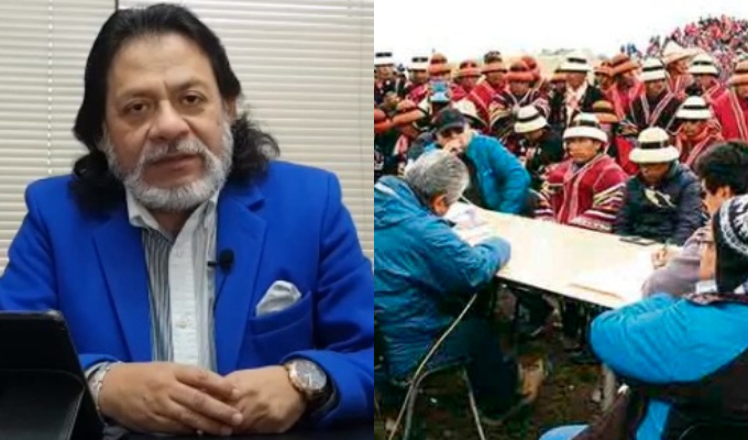 César Gutiérrez: No hay condiciones para mesa de diálogo en Las Bambas