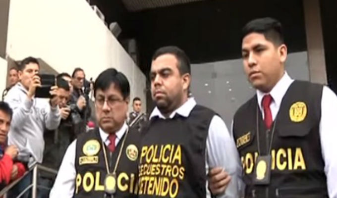 Policía presentó a banda que intentó secuestrar a joven en La Molina