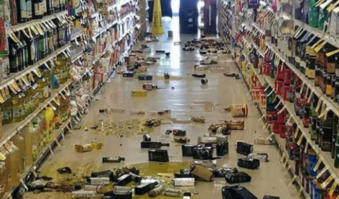 Terremoto en California: comparten instantes de pánico a través de las redes