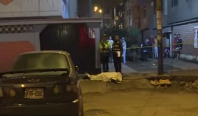 Rímac: hombre fue asesinado en presunto ajuste de cuentas