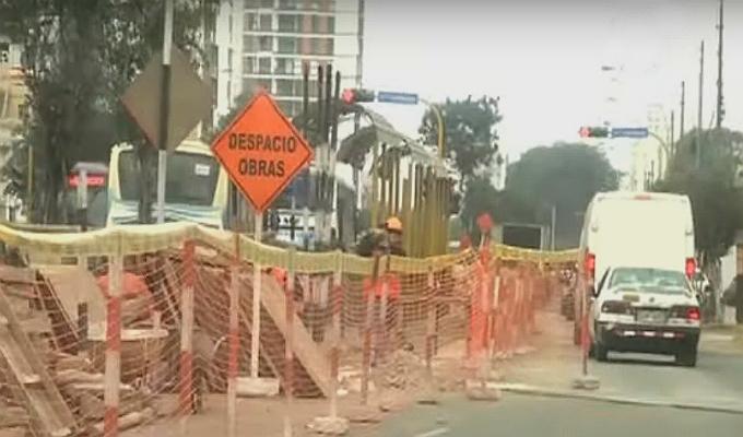 Avenida Brasil: obras podrían generar problemas para desfile cívico militar