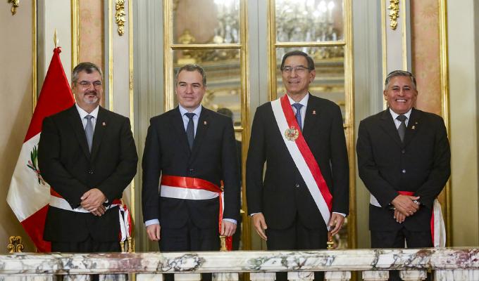 Juramentaron los nuevos ministros de Defensa y Cultura
