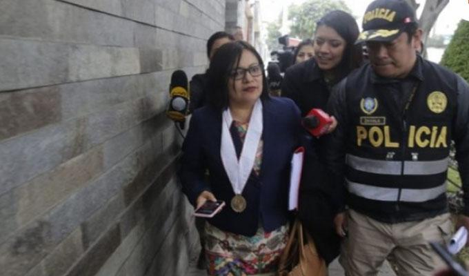 "Fiscal Mori: ""a Nadine se le investiga por favorecer a Odebrecht"""