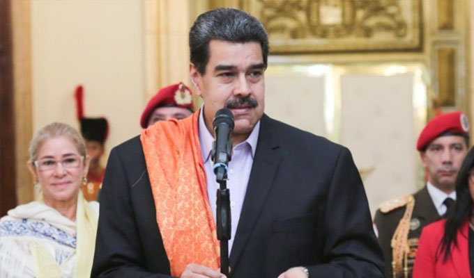 """Maduro: """"informe de ONU fue elaborado por enemigos de Venezuela"""""""