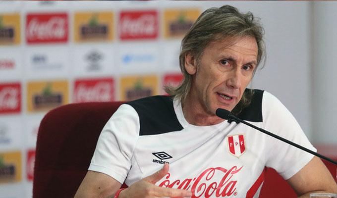 """Gareca: """"Lo más importante es el convencimiento y yo creo en el  jugador peruano"""""""