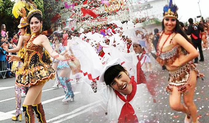 Tradicional corso de Wong vuelve a las calles de Miraflores