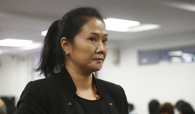 """Presidente del PJ descartó que Keiko Fujimori sea """"presa política"""""""