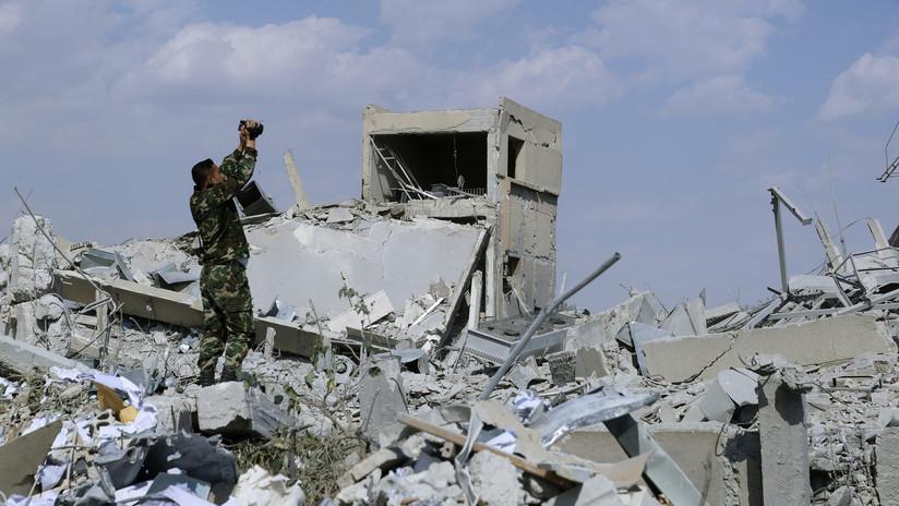 Siete muertos deja un nuevo bombardeo en Siria