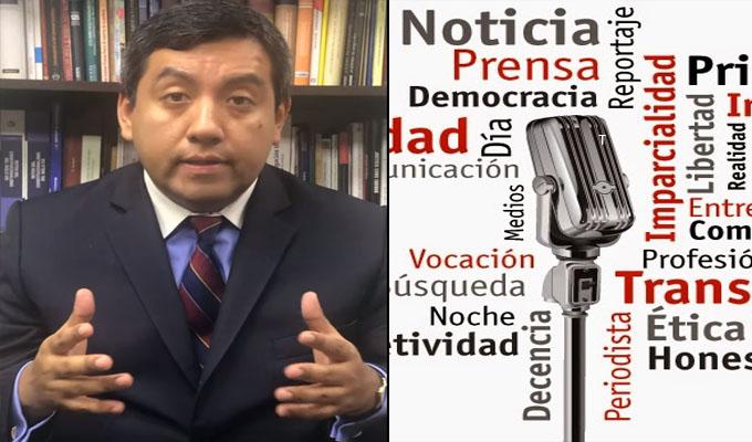Martín Santiváñez: Necesitamos un periodismo que promueva la verdad