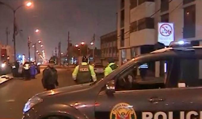 Cercado de Lima: hombre muere atropellado en la avenida Argentina