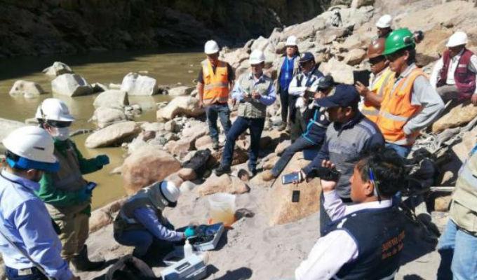 Fiscalía inicia investigación preliminar para Doe Run por derrame minero