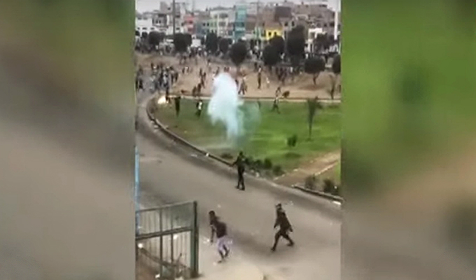 Callao: comercios y vecinos son los más afectados por enfrentamiento de barristas