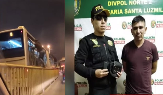 Los Olivos: ladrón que fue detenido 19 veces continúa en libertad