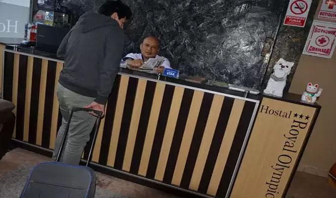 Policía captura a sujeto con escolar en hotel de Chiclayo